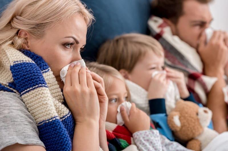 Как защититься от инфекций зимой?