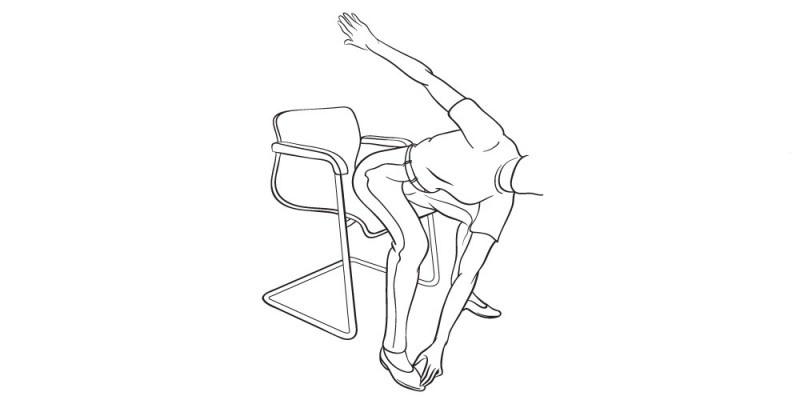 Плоский живот: 6 простых упражнений, которые вы можете выполнять сидя