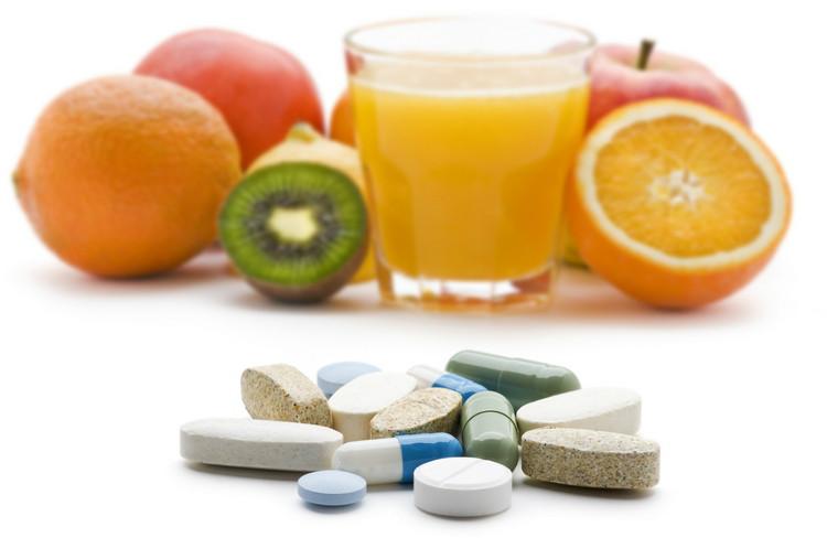 Витамины в рационе питания человека