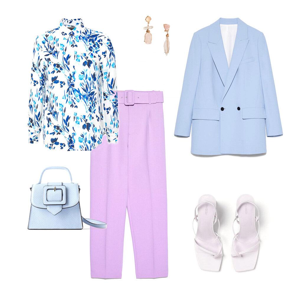 Блуза - Banana Republic, обувь - H&M, все остальное - Zara