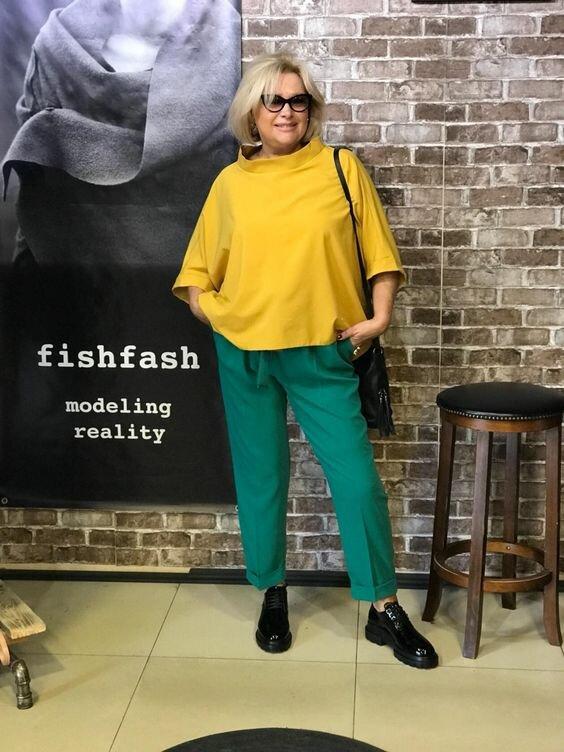 Свободный стиль для женщин 60 лет. 12 идей, которые стоит посмотреть
