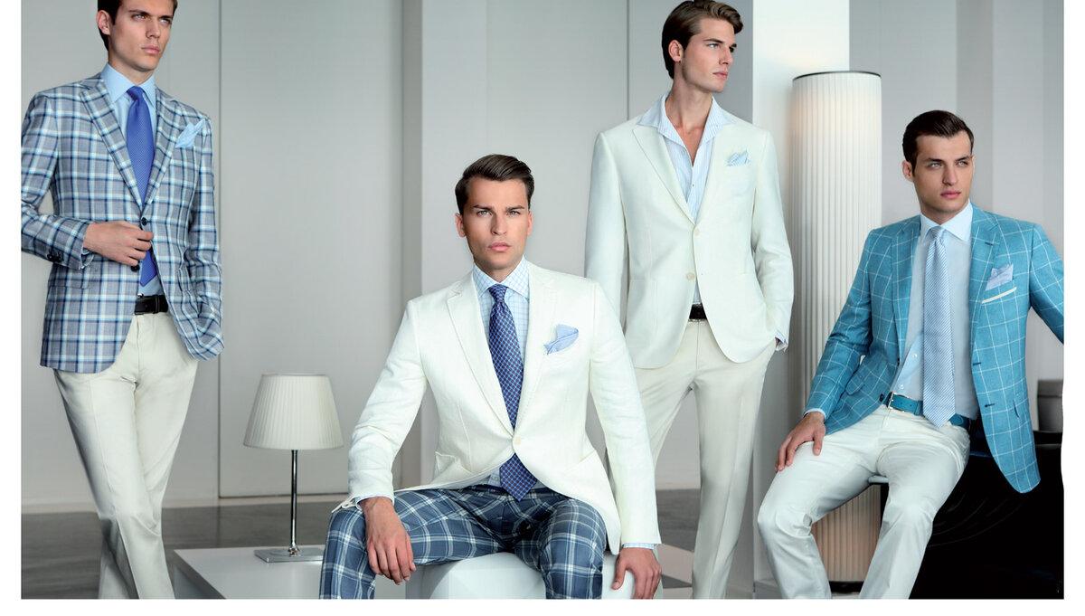 Как комбинировать цвета мужской одежды