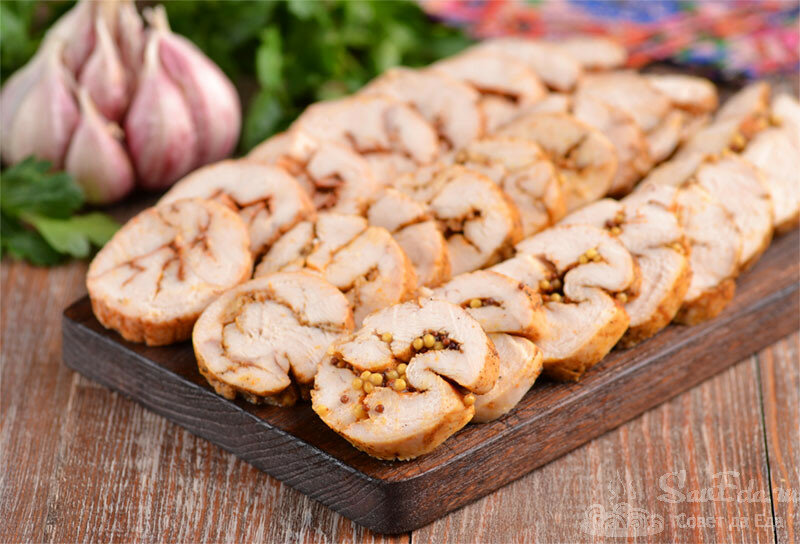 Отличная замена любой колбасы! Куриные рулетики простым способом. 3 разных вкуса