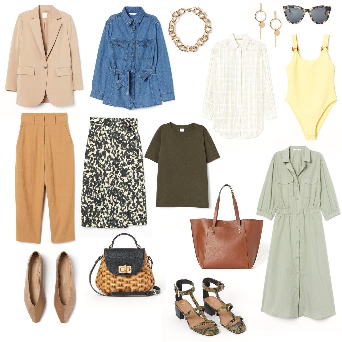 Капсульный мини-гардероб на весну-лето. Элегантность и комфорт