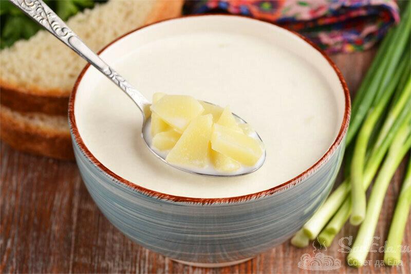 Для такого супа и мяса никакого не надо. Забеленная похлебка. Просто и вкусно (делюсь рецептом)