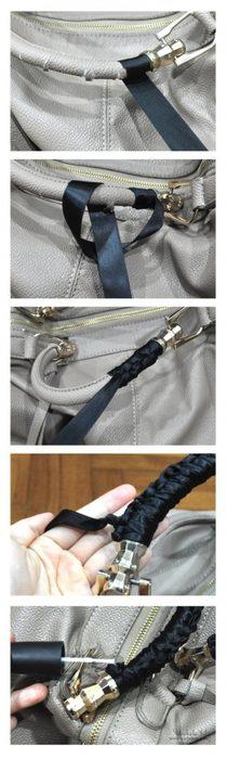 Всегда облазили ручки на сумке… теперь, с этим трюком — это не пробле