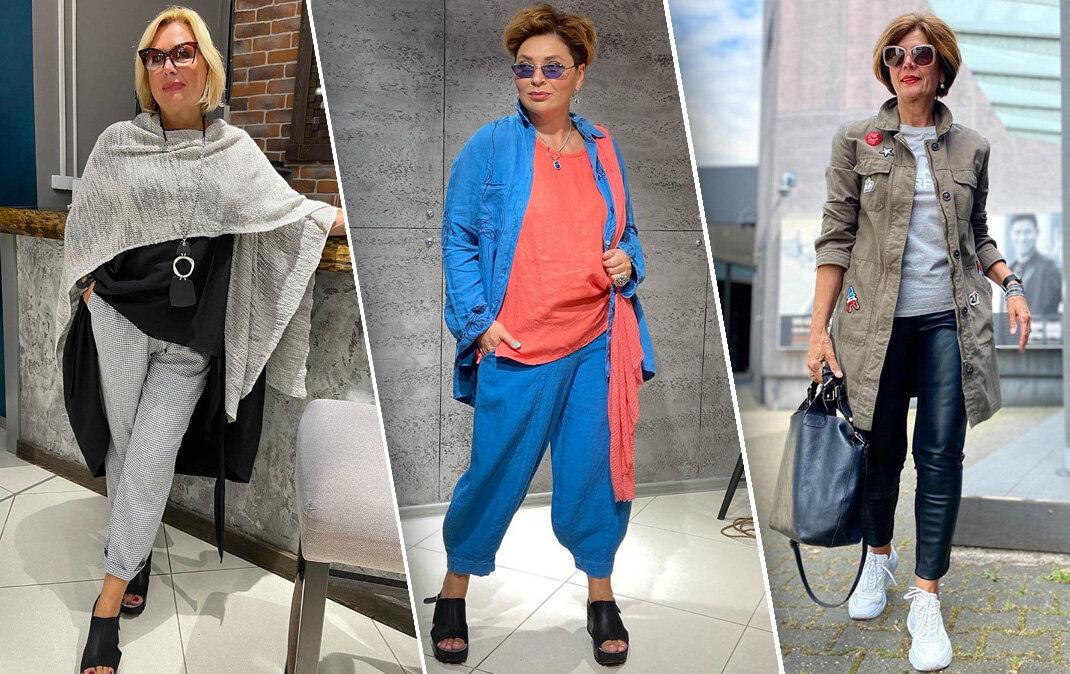 5 стилей 6 образов на осень для зрелых женщин
