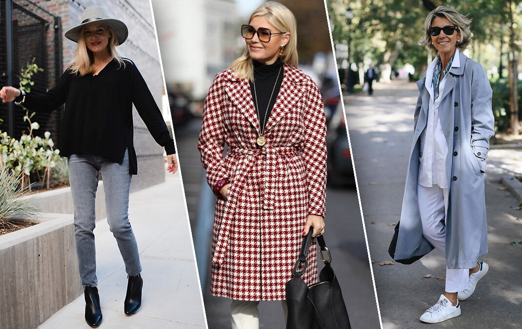 Осенний гардероб современной зрелой женщины