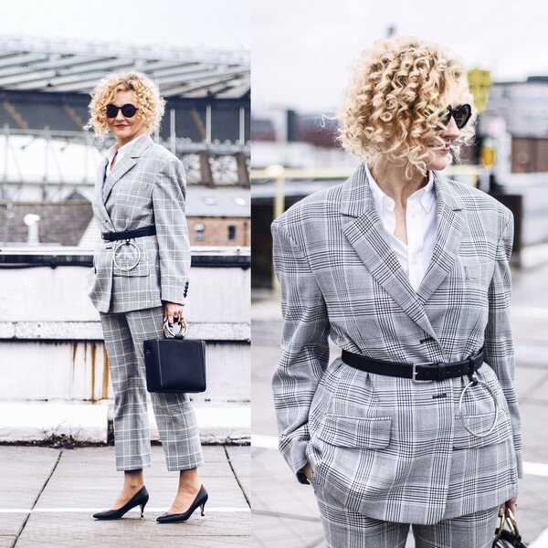 Пиджак способен заменить рубашку, кофту и даже куртку. 12 стильных образов для женщин 50+