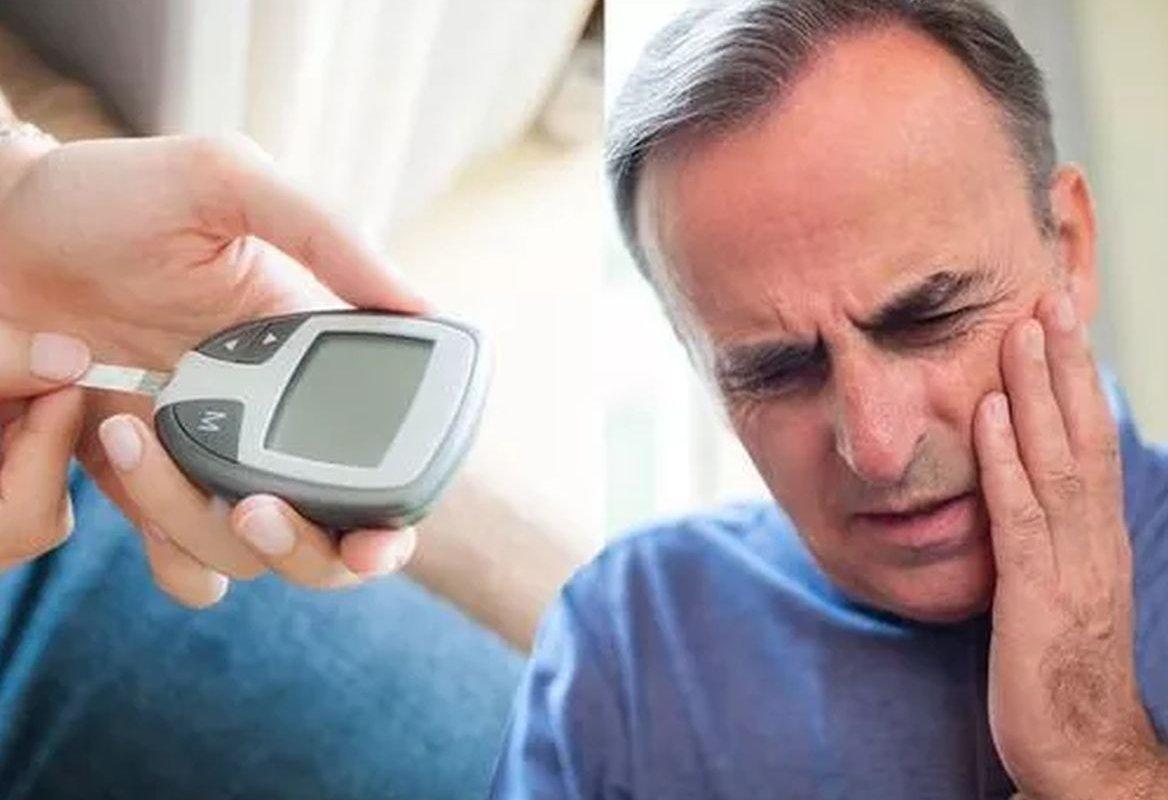 Изменение с лицом, которое предупреждает о развитии диабета