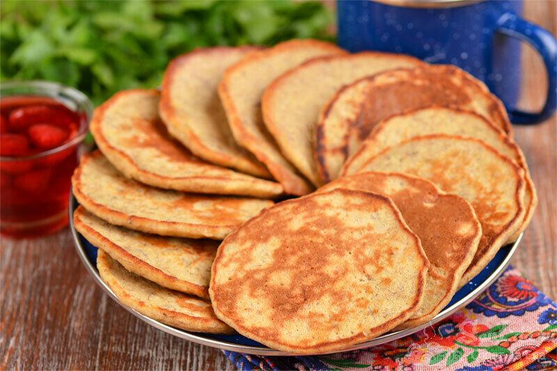 Сладкие оладьи без сахара и всего из 3 простых продуктов (делюсь рецептом)