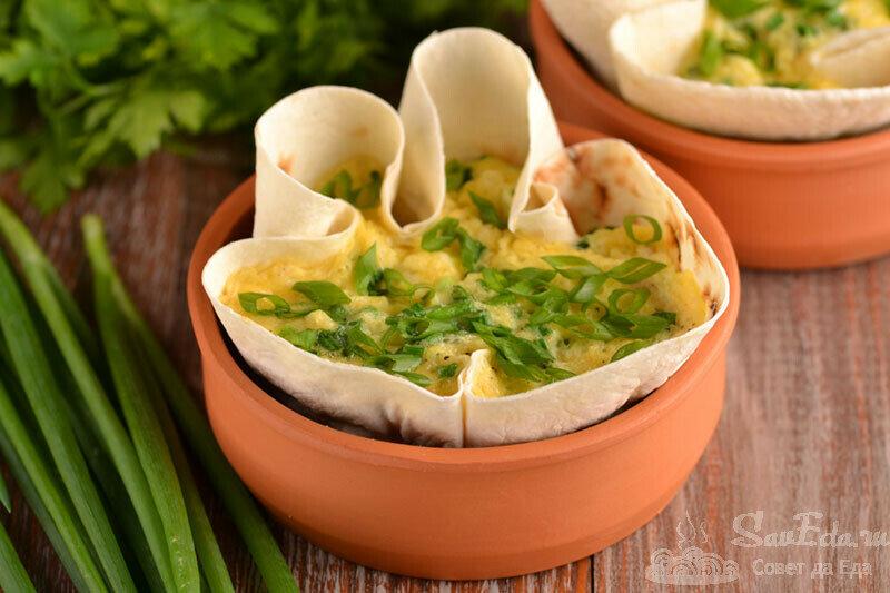 Завтрак за 3 минуты из яиц и лаваша без масла (делюсь рецептом)