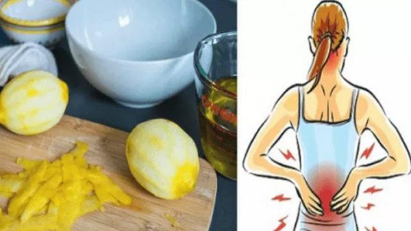 Лимонная кожура может облегчить боль в суставах навсегда!