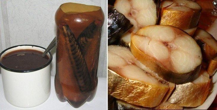СКУМБРИЯ В БУТЫЛКЕ — настоящий деликатес! Рыбка получается вкуснее