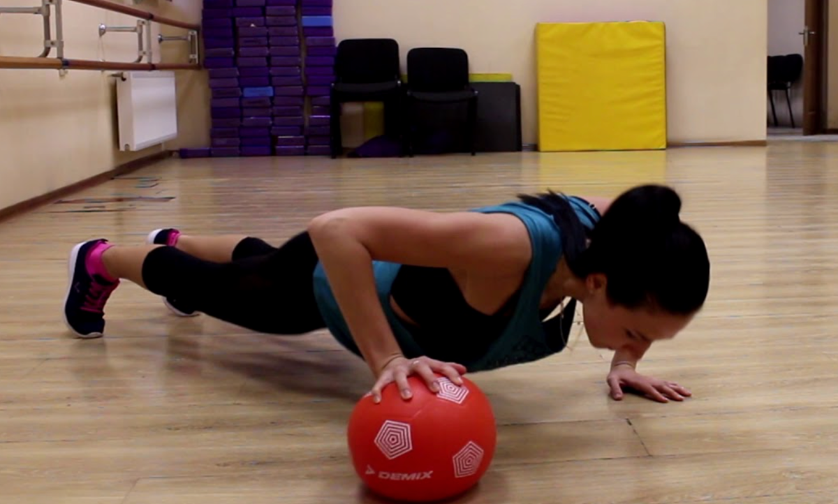 Упражнение «Новая Планка» -8 см в талии и подтянутый обвисший живот