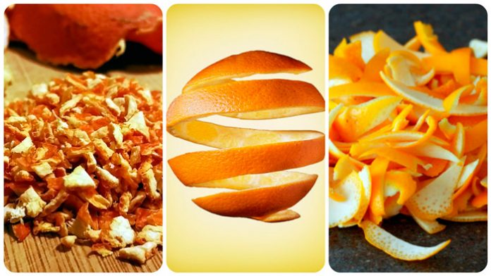 После прочтения, вы никогда больше не будете выбрасывать цедру апельсина!