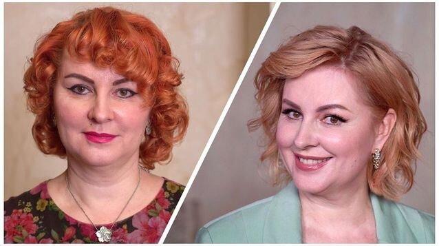 Завивка завивке рознь: женщина в свои 50 стала выглядеть на 30!