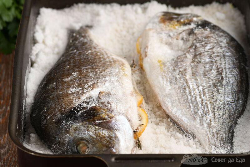 Такой сочной и вкусной рыбы еще не готовила! Рыба в соли (делюсь рецептом)