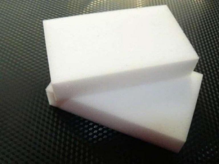 Как очистить и отбелить белую подошву