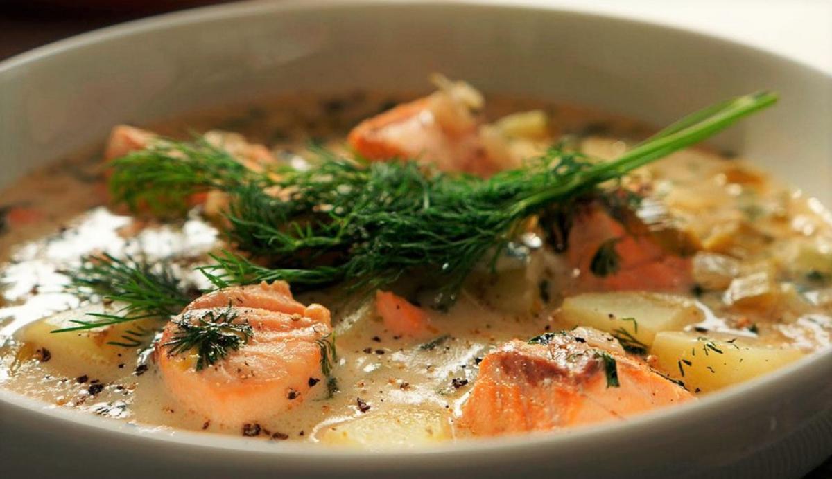 Как финны готовят лохикейто. Вкуснейший рыбный супчик!