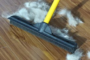 Как убрать шерсть от домашних животных