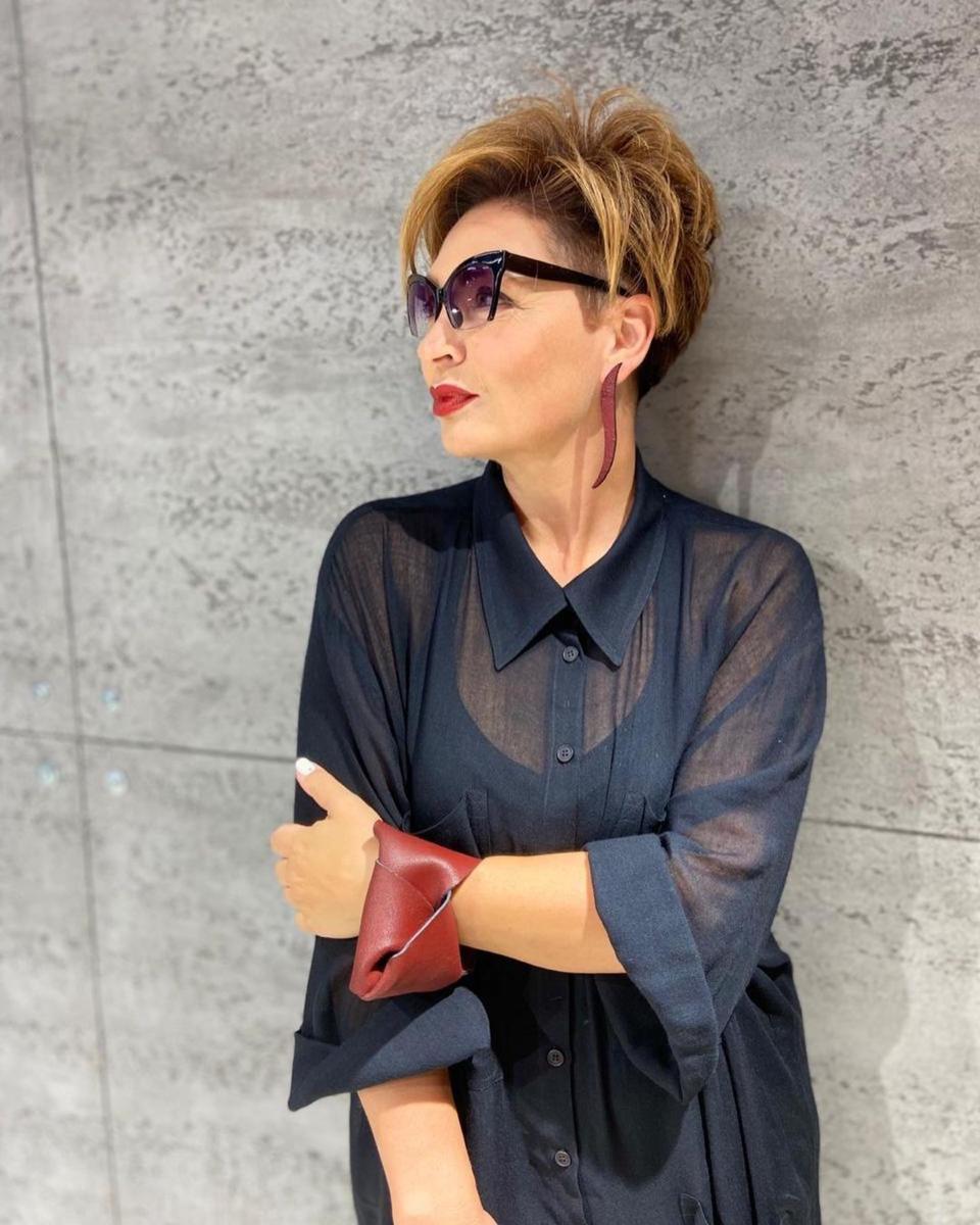 Фото 4 - кожаный браслет - образ Ирины Конаревой.