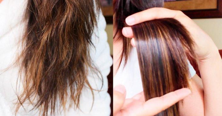Легкий способ увлажнить сухие волосы, а также навсегда избавиться от ломких и секущихся кончиков!