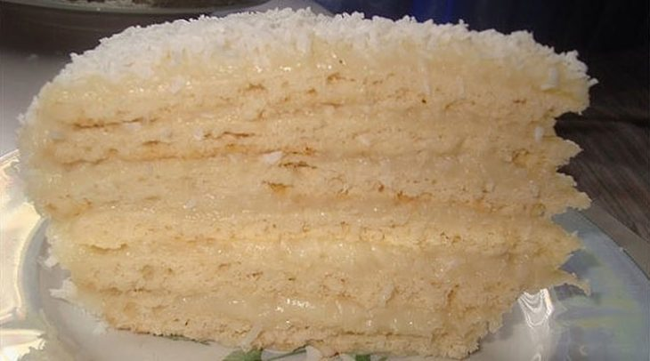 Торт «Рафаэлло». Мягкий и очень вкусный!