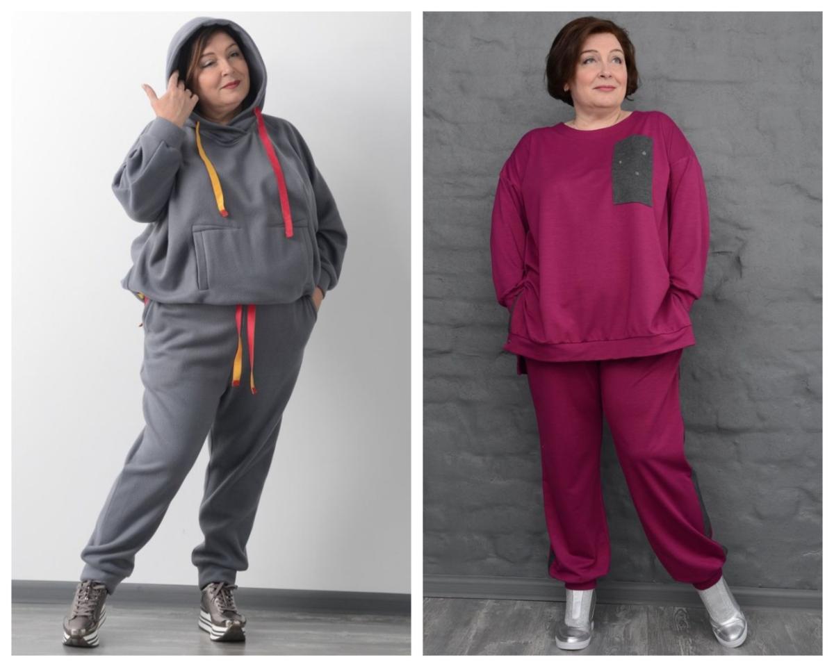 """Фото 1, 2 - спортивные костюмы торгового бренда """"МилаМи""""."""