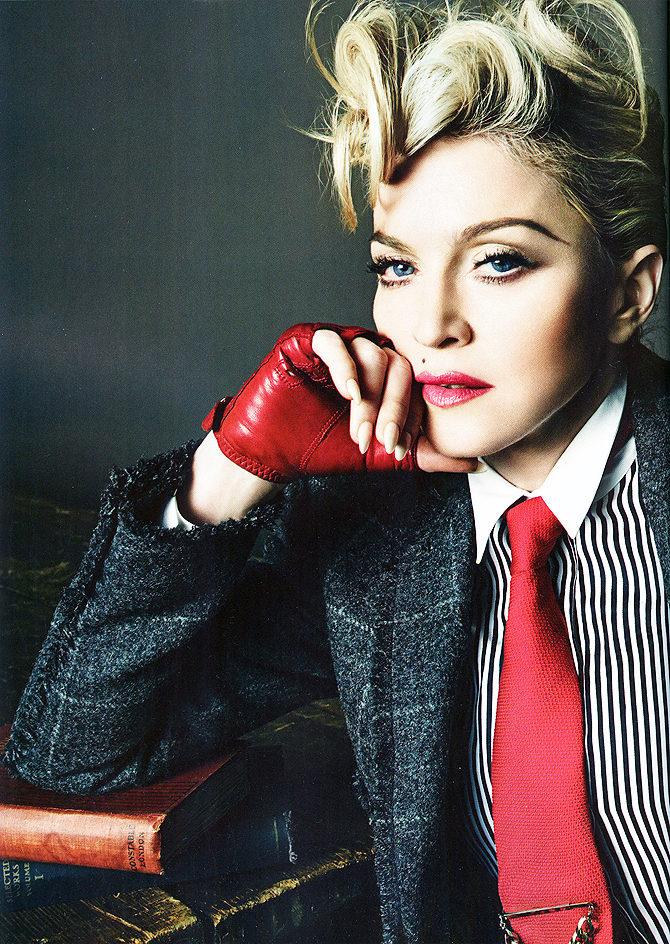 Фото 1 - Американская певица Мадонна.
