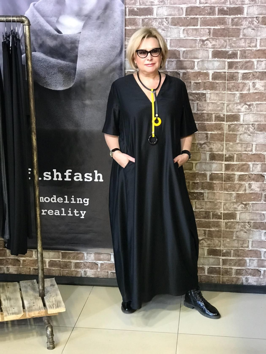 Стильные платья для работающей и стильной пенсионерки