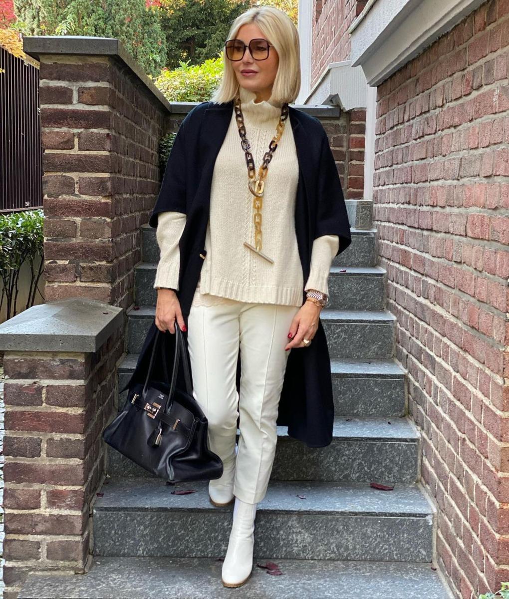 Фото 1 - стилист, модный блогер Петра Динерс.