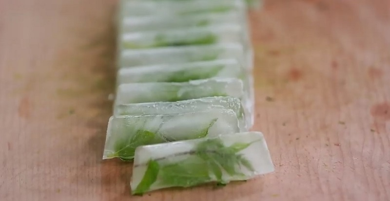Правила заморозки зелени