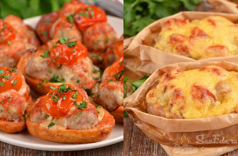 Два интересных блюда из фарша на праздничный стол (рецепт с фото)