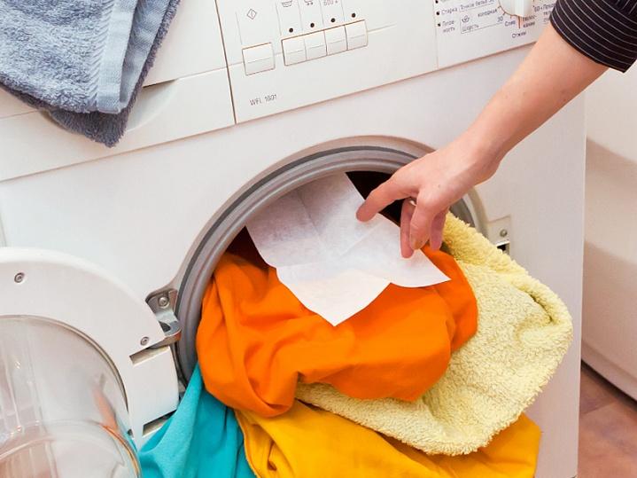 Девочки, раскрываю свой СЕКРЕТ! Я каждый раз кладу влажную салфетку в стиральную машинку!