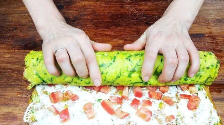 Такие вкусные кабачки вы еще не ели! быстро, вкусно и красиво!