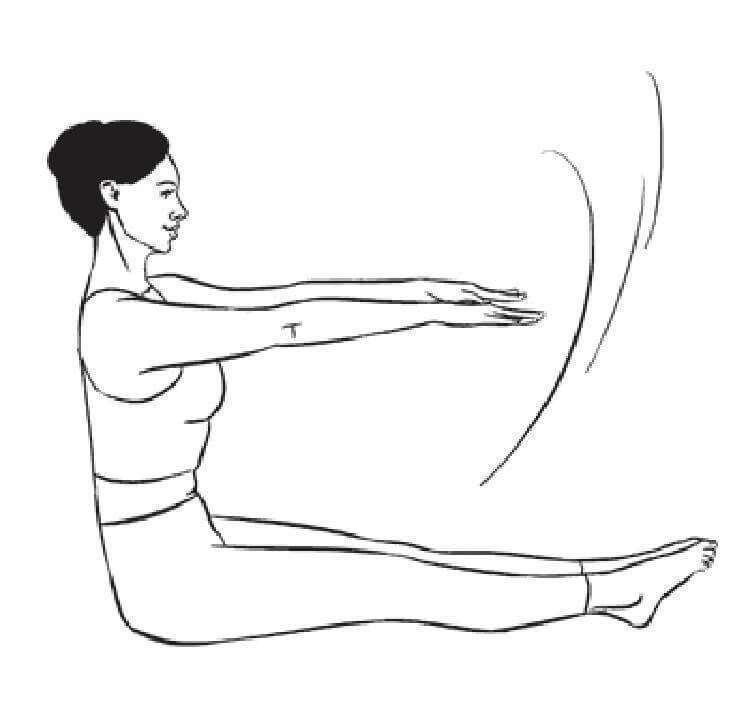 19 физических упражнений для стройной осанки