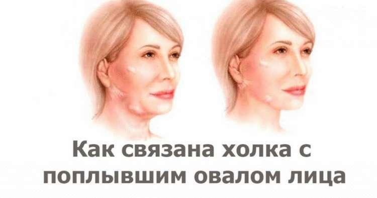 Почему со временем меняется овал лица