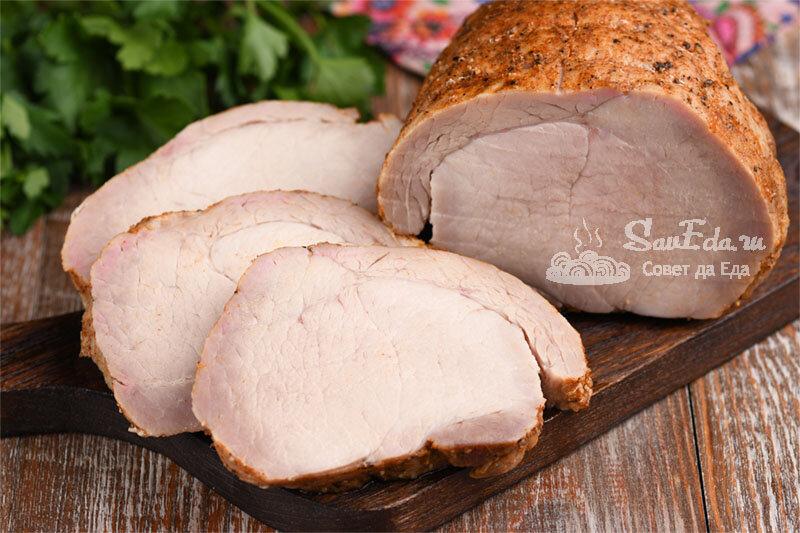 """""""Моченая"""" свинина в духовке. Мясо очень сочное и нежное (рецепт с фото)"""