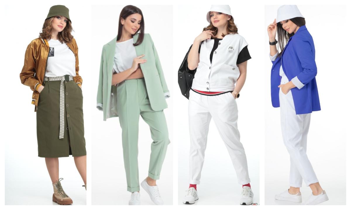 Фото 1 - стильная женская одежда. nashamoda.