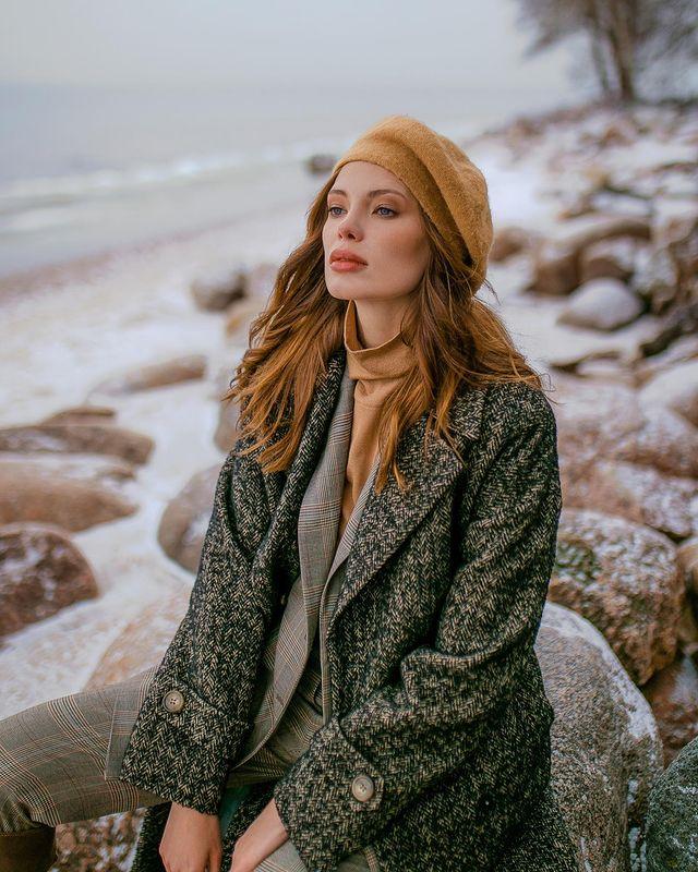 Фото 1 - пальто женское торговой марки Pompa.