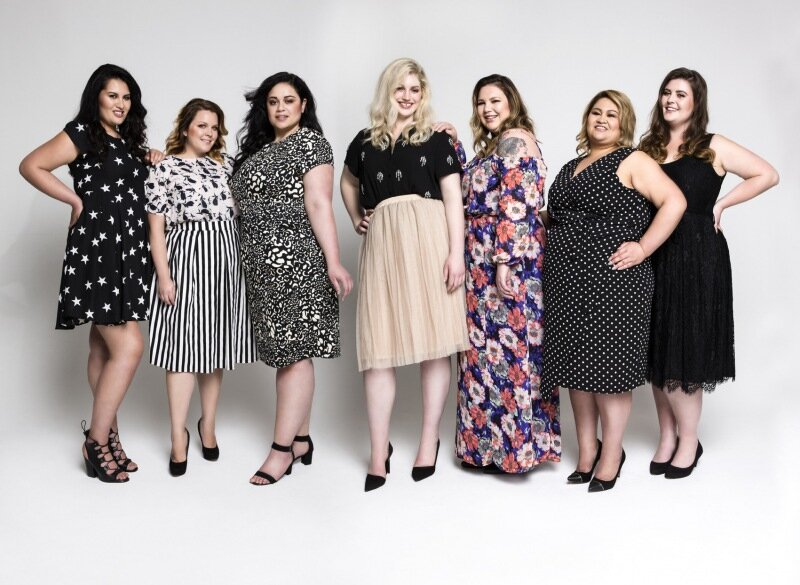 Модные платья для полных женщин и вы всегда стройны и элегантны