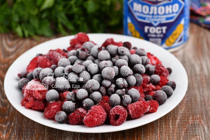 Из замороженных ягод и сгущенки за 5 минут готовлю вкуснейший десерт