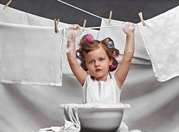 Быстрый способ отстирать кухонные полотенца