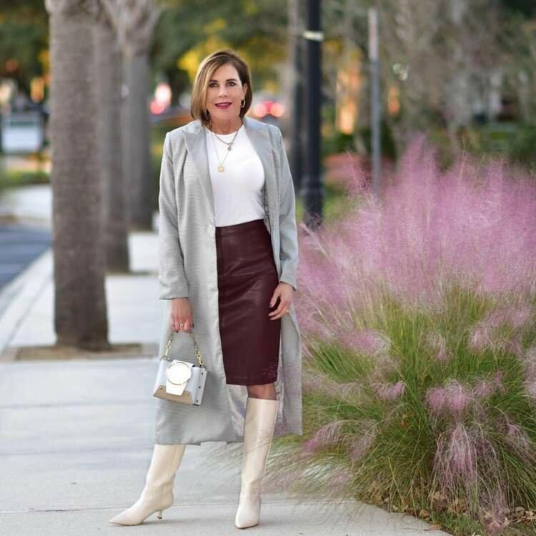 Весенне-летняя подборка с юбками для женщин 50+