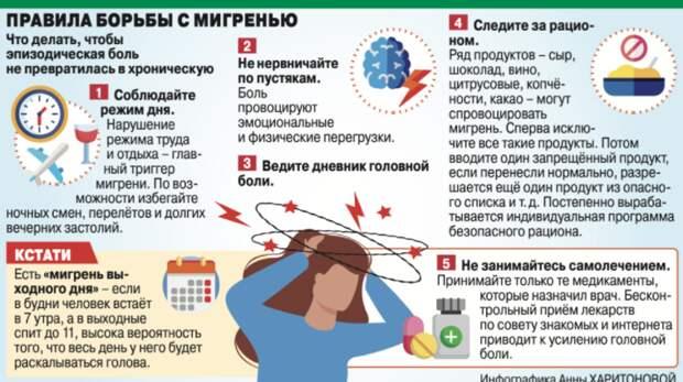 Что приводит к мигрени и как не спутать её с инсультом